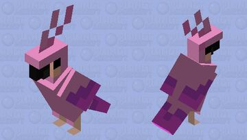 A Parrot for my Sister Minecraft Mob Skin