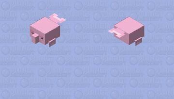 Blobfish / over world / level 2 Minecraft Mob Skin