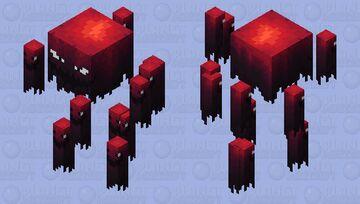Blaze 200 degrees Minecraft Mob Skin