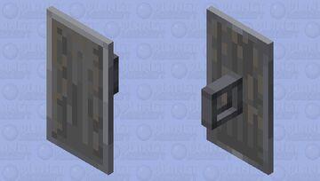 Metal Shield Minecraft Mob Skin