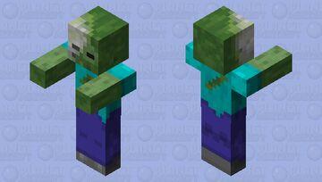 Rotting Zombie Minecraft Mob Skin