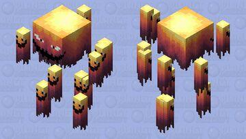 Blaze 500 degrees Minecraft Mob Skin
