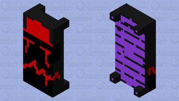 Reaper Death Bed Minecraft Mob Skin