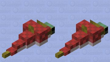 I'm a salmon, pinky promise Minecraft Mob Skin