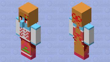Poppy Mary Noel(Villager)(BE only) Minecraft Mob Skin