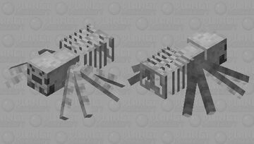 Spider Skeleton Minecraft Mob Skin