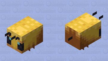 Bee Minecraft Mob Skin