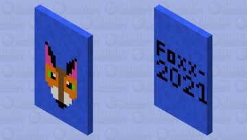 Fox Cape- Updated (1st Full Year on PMC Special) Minecraft Mob Skin