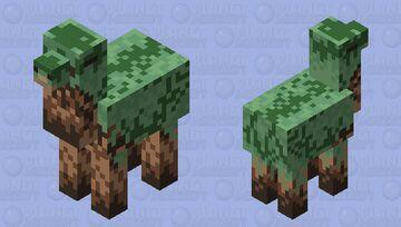 Mossy Brachiosaurus Minecraft Mob Skin