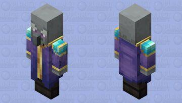The Enchanter (Purple) (Remade) (Look Description) (For MrZedLight) Minecraft Mob Skin