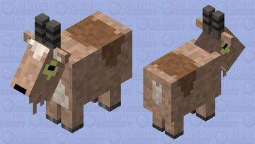 Gompers the Goat [Gravity Falls] Minecraft Mob Skin
