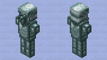 Ravager iron or silver / armor for the illagers / Remade Re-texturing Minecraft Mob Skin