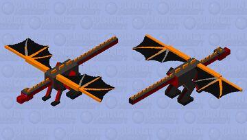 Nether Dragon Minecraft Mob Skin