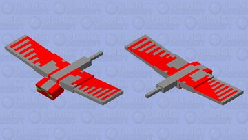 Red phantom Minecraft Mob Skin