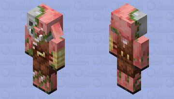 Zombiefied Piglin Brute Minecraft Mob Skin