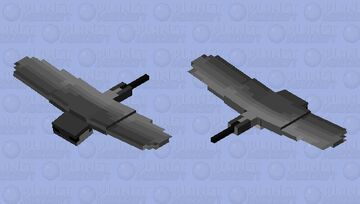 Sting ray (Surface dwelling type) Minecraft Mob Skin
