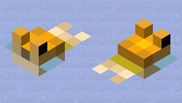 Edited Pufferfish Minecraft Mob Skin