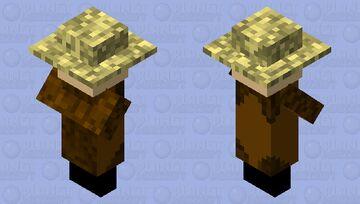 remastered villager Minecraft Mob Skin