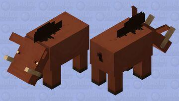 Hakuna Matata ( Pumbaa From the Lion King as a Hoglin ) Minecraft Mob Skin