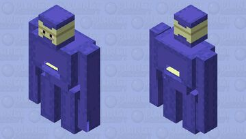 Shulker mech-blue dye( which color should i do next? comment down below) Minecraft Mob Skin