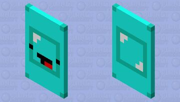 Skeppy face cape Minecraft Mob Skin