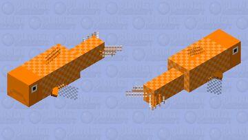 Giant Goldfish Minecraft Mob Skin