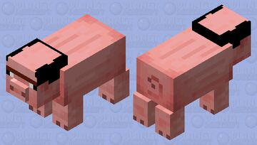 a real pig-man Minecraft Mob Skin