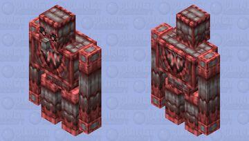 Siege Golem (Red Team) | 2x HD Minecraft Mob Skin