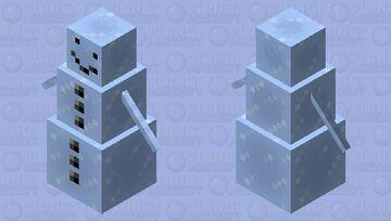 Ice Golem Minecraft Mob Skin