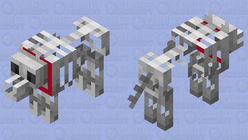 Grim the wolf Minecraft Mob Skin