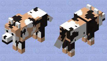 African Wild Dog 4 Minecraft Mob Skin