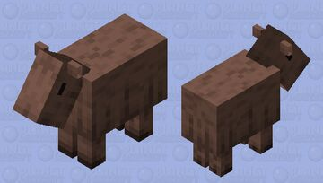 Capybara Minecraft Mob Skin