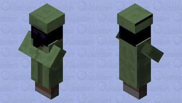 Ender Villager Minecraft Mob Skin