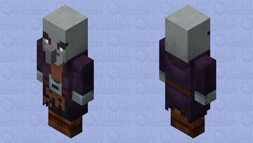 illusioner re-texturing / remade / no level Minecraft Mob Skin