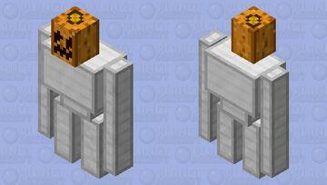 An actual Iron Golem Minecraft Mob Skin
