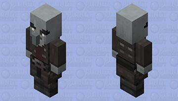 The Captain Vindicator re-texturing / Netherite Minecraft Mob Skin