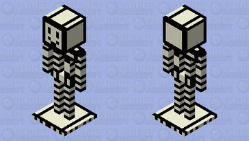 Cartoon Armor stand Minecraft Mob Skin