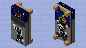 spooky bed Minecraft Mob Skin