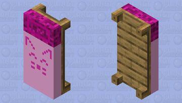 Pink Bed Minecraft Mob Skin