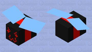 Demon Bee - Bee Swarm Simulator Minecraft Mob Skin