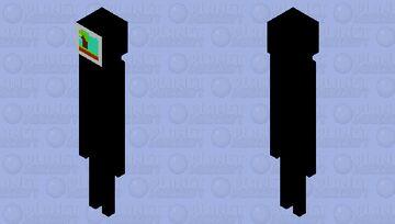 tv assassin Minecraft Mob Skin