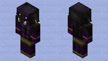 Demonic Piglin Minecraft Mob Skin