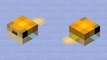 Alternate pufferfish Minecraft Mob Skin