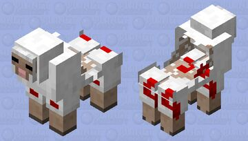 half eaten sheep Minecraft Mob Skin