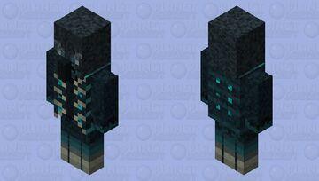 Vindisculk/Sculkator (Vindicator + Sculk) Minecraft Mob Skin