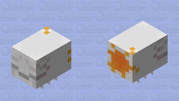 Pollinated Lil' Ghast Minecraft Mob Skin