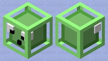 Silly Slime Minecraft Mob Skin