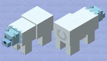 Cubchoo - Pokemon Polar Bear Replacer Minecraft Mob Skin