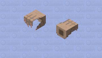 The living hands (Little Nightmares II) Minecraft Mob Skin