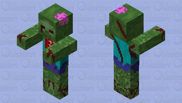 Better zombie Minecraft Mob Skin
